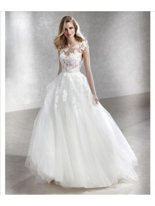 Wedding dress FELICIDAD - WHITE ONE
