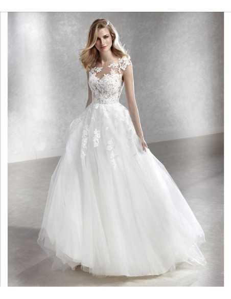 Wedding dress FELICIDAD - WHITE ONE