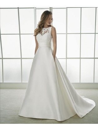 Wedding dress FLAVIA - WHITE ONE