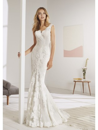 Wedding dress OLEAJE - WHITE ONE