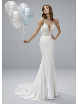 Wedding dress OROTINA - WHITE ONE