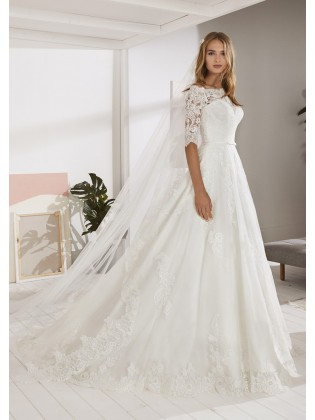 Wedding dress OSSA - WHITE ONE