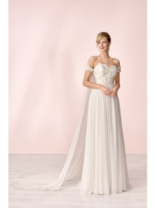 Wedding dress E-4020T - MODE DE POL