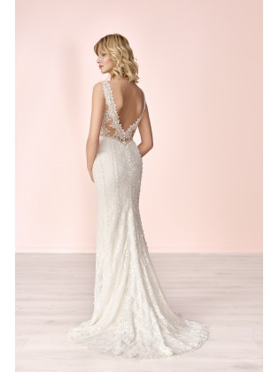 Wedding dress E-4041T - MODE DE POL