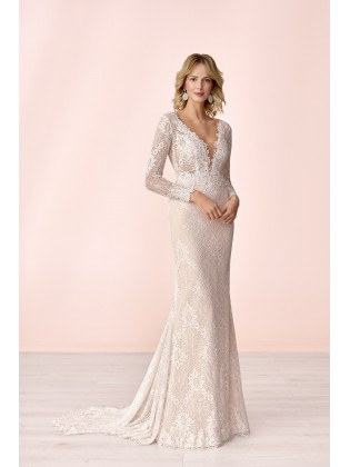 Wedding dress E-4043T - MODE DE POL