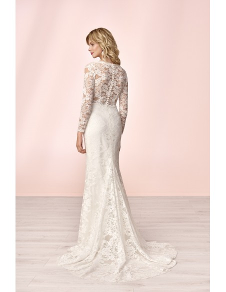 Wedding dress E-4168T - MODE DE POL