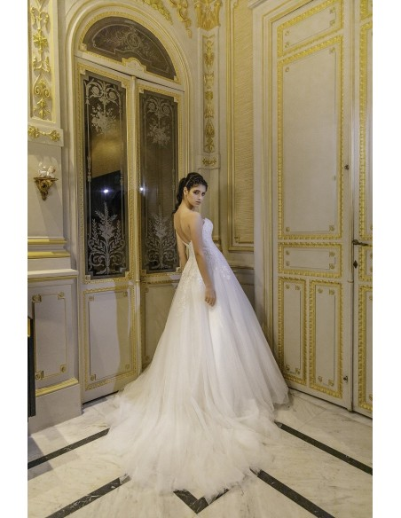 Wedding dress YASMINA - SEDKA NOVIAS