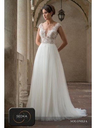 Wedding dress SOLOMIJA - SEDKA NOVIAS