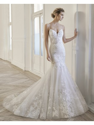 Wedding dress Emocion by Aire Barcelona