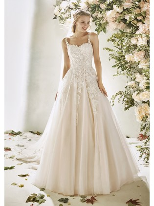 Wedding dress HYDRANGEA -...
