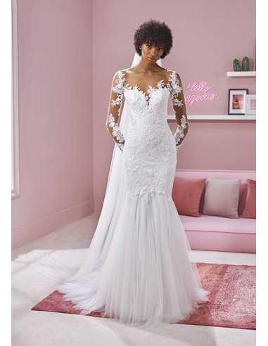 Wedding dress AVRIL - WHITE ONE