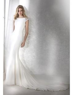 Wedding dress FIANA- WHITE ONE
