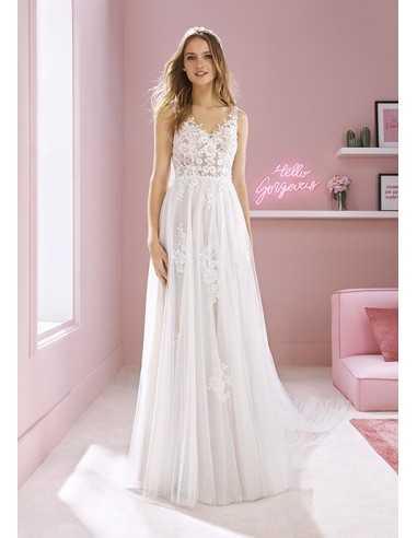 Wedding dress MEGAN - WHITE ONE