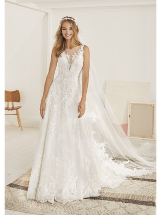 Wedding dress OLITE - WHITE...