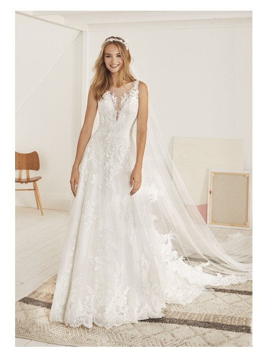 Wedding dress OLITE - WHITE ONE