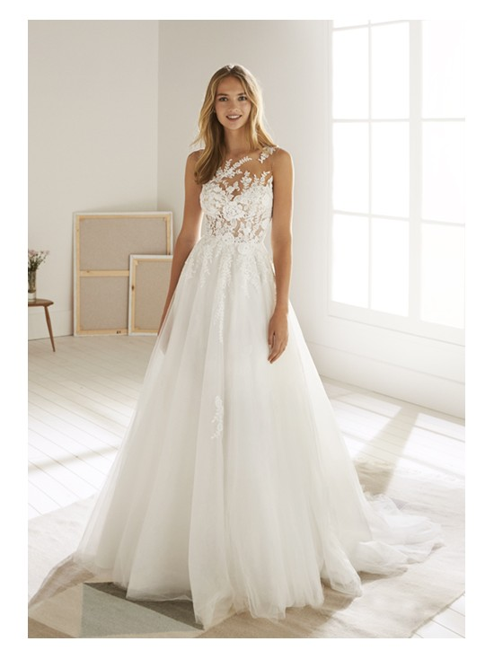 Wedding dress OROPESA - WHITE ONE