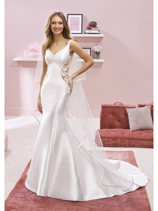 Wedding dress RAI - WHITE ONE