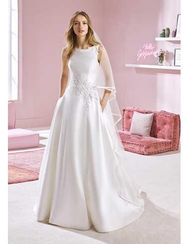 Wedding dress WHITNEY - WHITE ONE