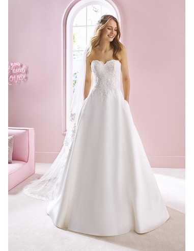 Wedding dress YVONNE - WHITE ONE