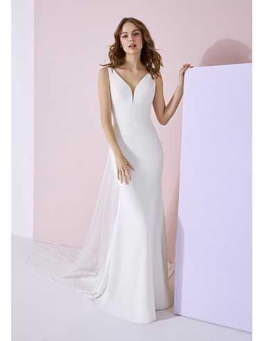 Wedding dress AIKO - WHITE ONE