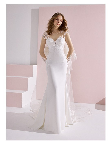 Wedding dress ALEXANDRE - WHITE ONE