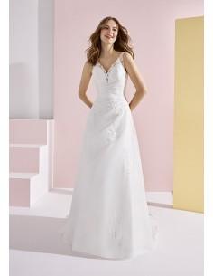 Wedding dress BAUBO - WHITE...