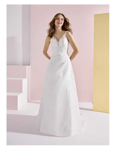 Wedding dress BAUBO - WHITE ONE