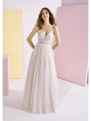 Wedding dress CLEO - WHITE ONE