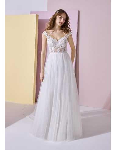 Wedding dress MAGRELA - WHITE ONE