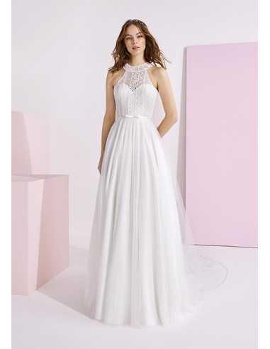 Wedding dress NEKS - WHITE ONE