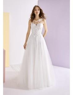 Wedding dress SALLA - WHITE...