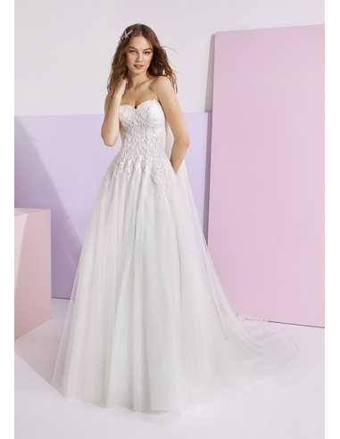 Wedding dress SHAMSIA - WHITE ONE