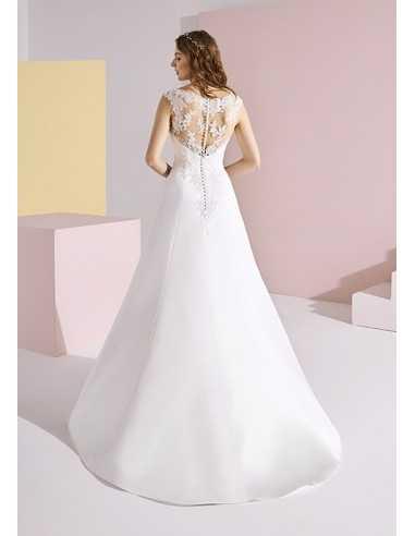 Wedding dress TATYANA - WHITE ONE
