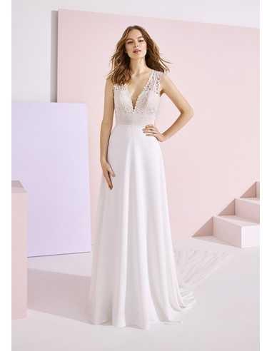 Wedding dress VINIE - WHITE ONE