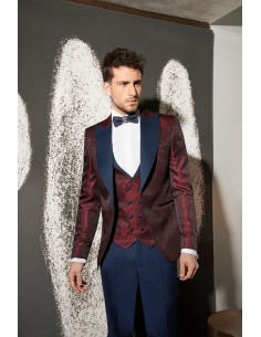 Groom suits Bali red-028 -...