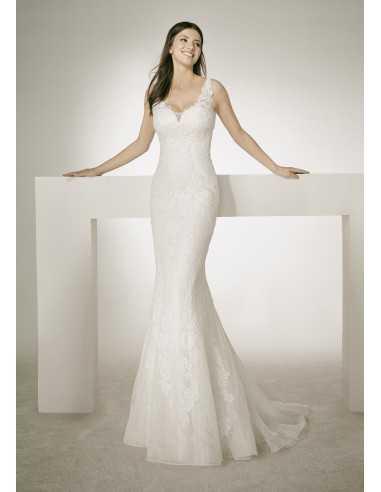 Vestido de novia Chris - White one