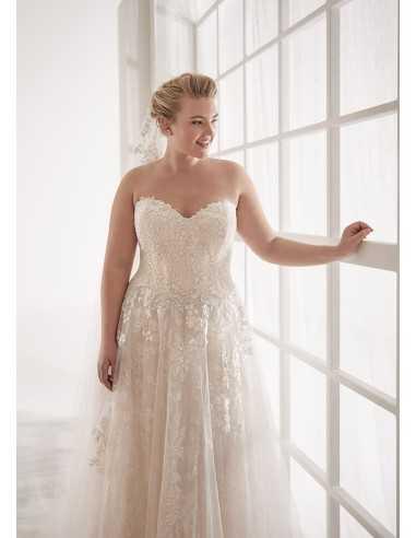 Vestidos de novia CVA20021 - WHITE...
