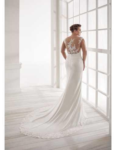Vestidos de novia CVA20041- WHITE ONE...