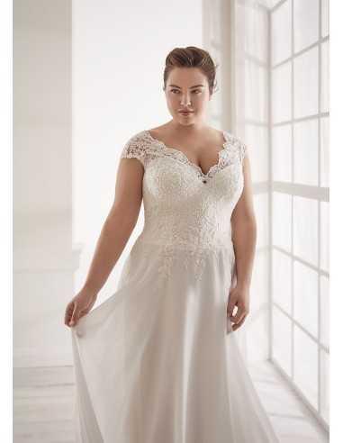 Vestidos de novia CVA20151 - WHITE...