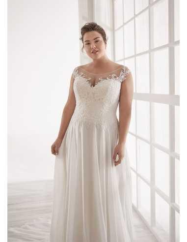 Vestidos de novia CVA20171 - WHITE...