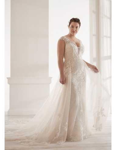 Wedding dress CVA20212 - WHITE ONE PLUSE