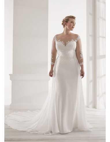 Vestidos de novia CVA20052 - WHITE...