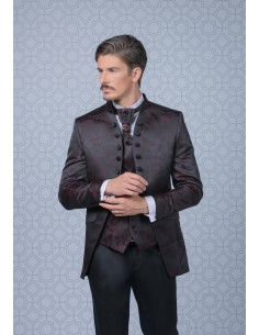 Groom suits Bordeaux 005 -...