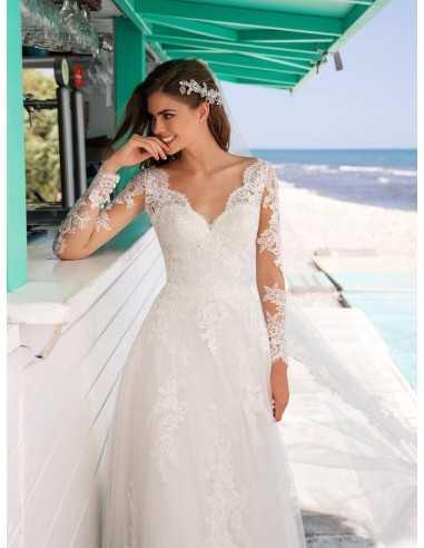 Wedding dress DIONNE - WHITE ONE