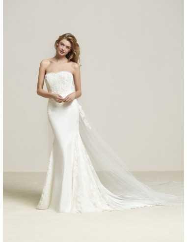 Vestido de novia Fran-Sedka novias