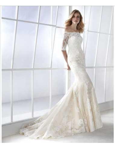 Vestido de novia modelo Famosa-Sedka...