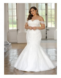 Wedding dress LS420074 -...