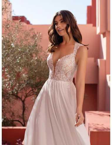 Wedding dress BEE - WHITE ONE