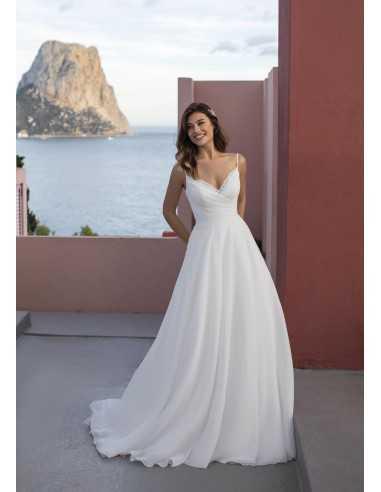 Wedding dress BONESET - WHITE ONE