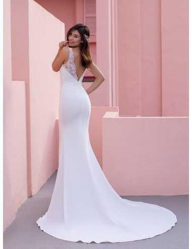Wedding dress CONEFLOWER - WHITE ONE